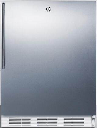 FF6L7SSHVADA 24 inch  FF6ADA Series Energy Star  ADA Compliant  Medical  Commercial Compact Refrigerator with 5.5 cu. ft. Capacity  Automatic Defrost  Door Lock