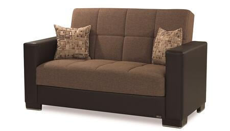 Armada Collection ARMADA LOVESEAT #14 BRN/BRN 20-440/05-181 65