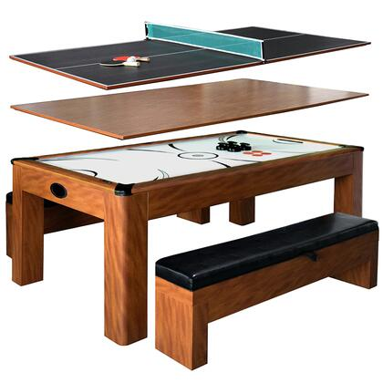 NG2422H Sherwood 7' Multi-Function Air Hockey Table