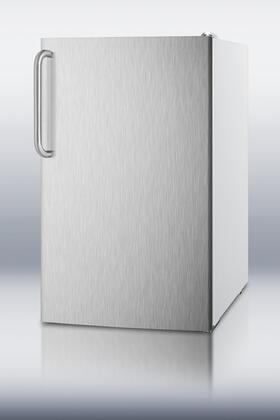 FS407LXSSTBADA 20 inch  Medically Approved ADA Compliant Compact Freezer with 2.8 cu. ft. Capacity  Pull Out Drawers  Manual Defrost  Fully Finished Cabinet and