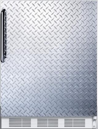 FF67DPLADA 24 inch  FF67ADA Series Energy Star  ADA Compliant  Medical  Commercial Freestanding Compact Refrigerator with 5.5 cu. ft. Capacity  Crisper  Interior