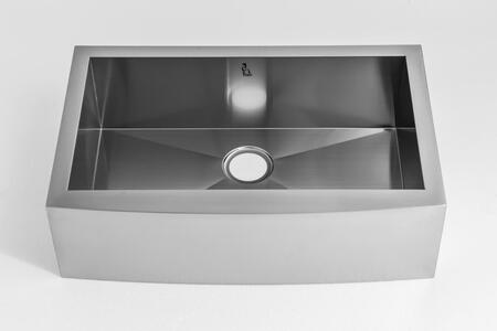 HS3120 Farmhouse Apron Front Stainless Steel 31 inch  Single Bowl Kitchen
