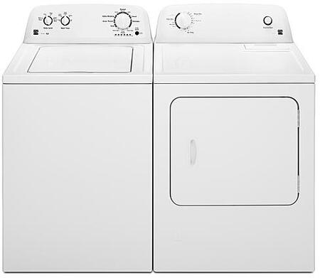 White Top Load Laundry Pair with 20232 28