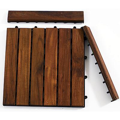 899029001613 Le click Teak Set of 2 End Pieces with Pin