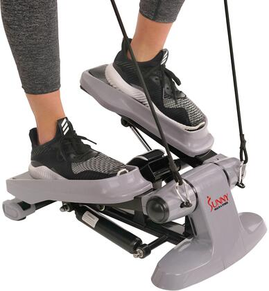 SF-S0870 Versa Stepper with Digital Monitor  Resistance Bands  Hydraulic Resistance  Non-Slip Foot Plates and Floor Levelers  in