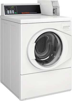 "SFNNCRSP115TW02 27"" Energy Star Certified Front Load Washer with 3.42 Cu. Ft. Capacity  Rear QUANTUM Controls  Low Water Usage  High Speed Extract  Stainless"