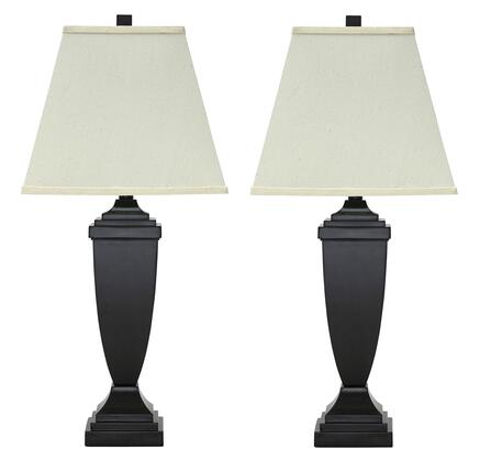 Amerigin L243154 Set of 2 30 Tall Poly Table Lamps in