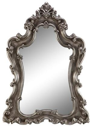 Tara Villa 13428 67 inch  Wall Mirror with Baroque Frame  Faded Finish and Traditional Style in
