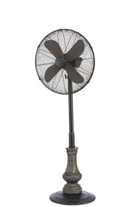 DBF6125 Floor Fan - Adjustable Height -
