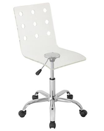 OFC-TW-SWISS CL Swiss Height Adjustable Contemporary Office Chair with Swivel in