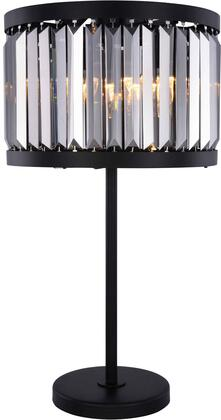 1233TL18MB-SS/RC 1233 Chelsea Collection Table Lamp D:18In H:32In Lt:4 Matte Black Finish (Royal Cut