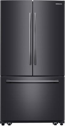 """RF261BEAESG 36"""" French Door Refrigerator with 25.5 cu. ft. Capacity  LED Lighting  Water Dispenser  Auto Defrost  Child Lock  Hidden Hinge and Door Alarm in"""