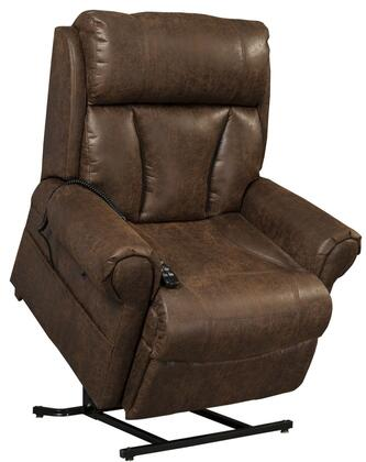 Joey AS9001XTOB1 38 inch  Power Reclining Lift Chair with 3-Position Mechanism  Chaise Pad and Split Back in Tobacco