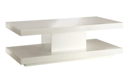 Imena Collection 80728 48 inch  Coffee Table with Square Shape  Medium-Density Fiberboard