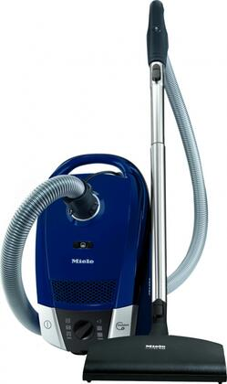 41DAE032USA Compact Topaz C2 Canister Vacuum with Powerful 1200 Watt Vortex Motor  6 Power Settings  33 ft. Operating Radius  and AirClean Sealed System in