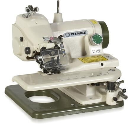 Maestro 700SB Portable Blind Stitch Sewing Machine with Adjustable Stitch Penetration  Needle Eye Guard and Skip Stitch Lever  in