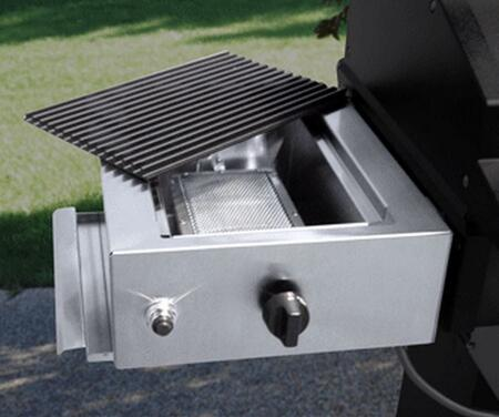 Phoenix PFMGSEARP Liquid Propane Stainless Steel Infrared Sear Zone with SearMagic Grid  Electronic Ignition and Pull-out Drip Tray in Stainless Steel