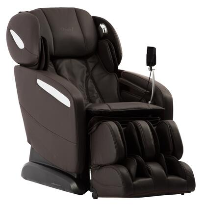 OS-Pro-Maxim BROWN Massage Chair with SL Track Roller  12 Auto-Programs  6 Massage Styles  Zero Gravity Position  Multi-Language Option and Hip Air Massage in