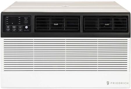 UET08A11A Smart Thru-the-Wall Air Conditioner with 8000 Cooling BTU Capacity  4200 BTU Heating Capacity  Quietmaster Technology  and 4 Fan Speed  in