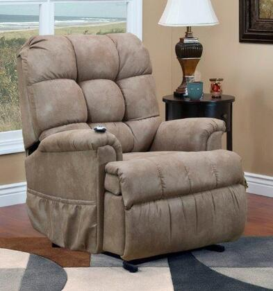 5555P-STM Petite Sleeper/Reclining Lift Chair - Stampede -
