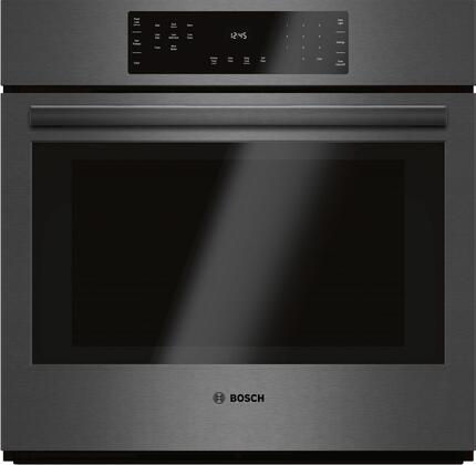 Bosch HBL8442UC 30 Black Stainless Steel 800 Series Single Wall Oven