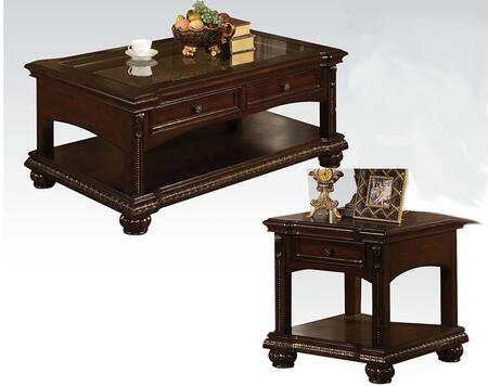 Anondale Collection 10322CE 2 PC Living Room Table Set with 50