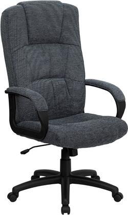 BT-9022-BK-GG High Back Gray Fabric Executive Office
