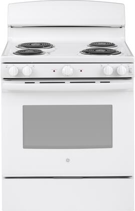 JBS460DMWW 30 Freestanding Electric Range with 5 cu. ft. Oven Capacity  Dual Element Bake  Sensi-Temp Technology  in