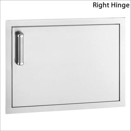 53917-SR Flush-Mounted Series Single Access Door with Right Door Hinge: Stainless