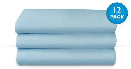 Cozyfit Collection Cs-ss-bl-12 50 Cot Sheets With High Quality Polyester  Wrinkle Resistant Fabric In