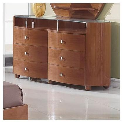 Evelyn Dresser with 6 Drawers in Glossy