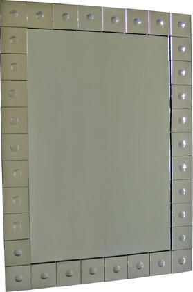 MT771 45x33 Khan Mirror with Mirror