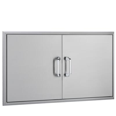 OCI-40ADD 40 inch  Double Access Doors with Paper Towel Holder  Magnetic Latch and Heavy Duty Hinges: Stainless