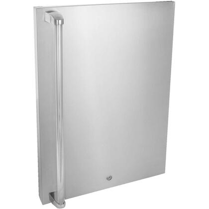 BLZ-SSFP-4.5 Stainless Front Door Upgrade for 4.5 cu. ft. Refrigerator: Right