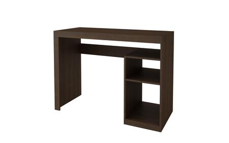 34AMC49 Accentuations by Manhattan Comfort Simple Aosta Cubby Desk in