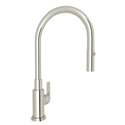 A3430LMPN Lombardia Pull-Down Kitchen Faucet in Polished