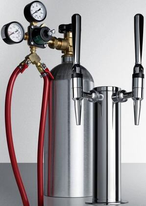 KitNCFTWIN Cold Coffee Brew Double Tap for Converting Beer Dispenser to Nitro-Infused Coffee
