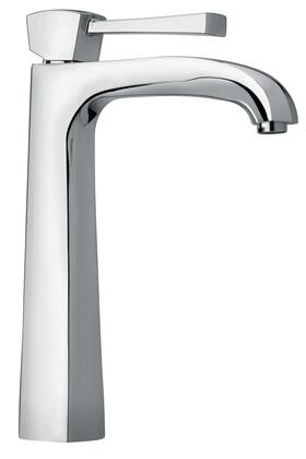 11205-68 Single Lever Handle Tall Vessel Sink Faucet With Arched Spout with Polished Nickel