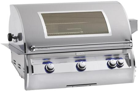 E790I4-LAPW Echelon Diamond Series Built-In Gas Grill with Hot Surface Ignition  Left Infrared Searing Burner  Rotisserie Backburner  792 Sq. In. Cooking Area