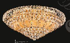 Corona Collection SP81076F-32G 32 inch  Wide Chandelier in Gold