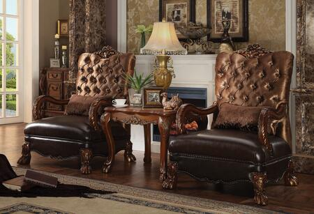 Click here for Dresden 52097CT 3 PC Living Room Set with 2 Accent... prices