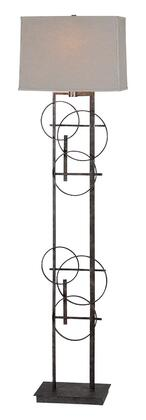 LPF562 Aria Floor Lamp Floor Lamp in Antique