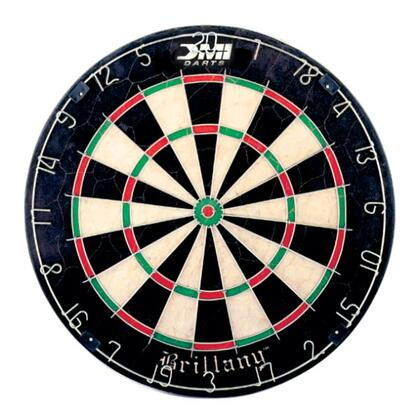 ND200 Brittany Regulation Size 18 inch x1.5 inch  Bristle Dartboard with  Movable Number