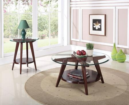 Ardis Collection 80520CE 2 PC Living Room Table Set with 38