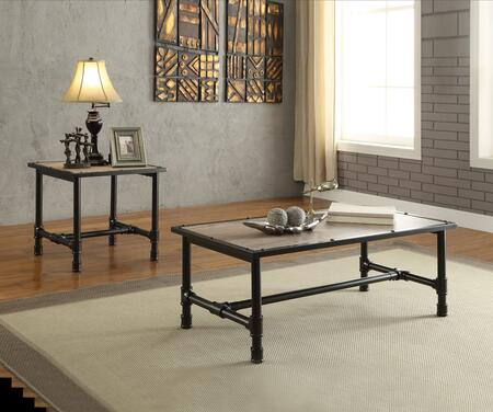 Caitlin Collection 821951E 2 PC Living Room Table Set with 48