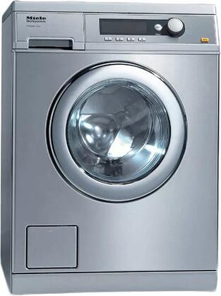 """PW6068SS 24"""" Little Giant Professional Series Front Load Washer with 15 lb. Capacity  1400 RPM Spin Speed  and Delay Start  in Stainless"""