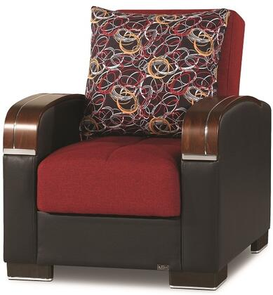 Mobimax Collection MOBIMAX ARM CHAIR RED 21-442 35
