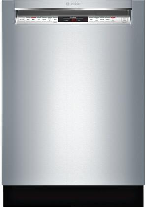 Bosch SHEM78W55N 24 800 Series Built In Full Console Dishwasher with 6 Wash Cycles, in Stainless Steel