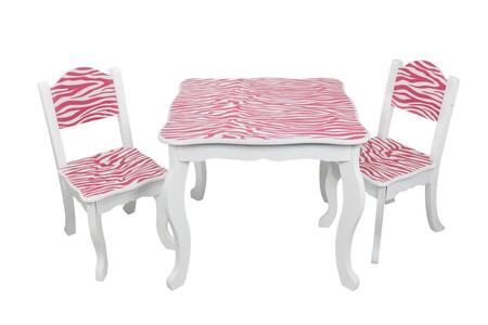 TD-11666B Teamson Kids - Zebra Table & Chair