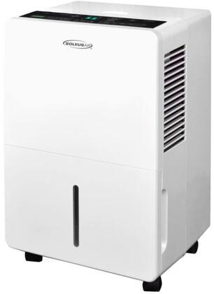 DS13001 30 Pint Dehumidifier with Programmable Timer  MyHome Mode  Automatic Defrost  Low Temperature Operation  and Washable Air Filter  in